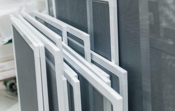 Stack of solar screens | Demers Glass AZ